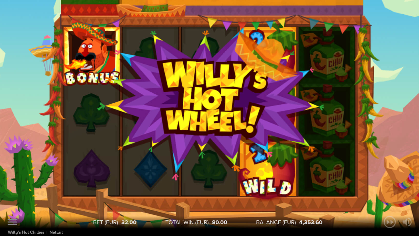 willy hot chillies wheel feature